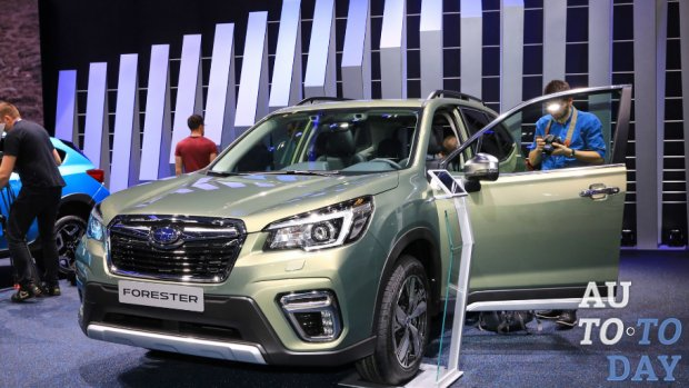 Новый Subaru Forester eBoxer дебютирует с гибридной установкой