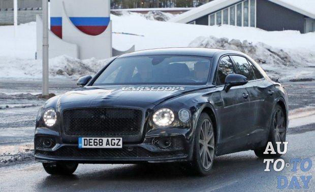 Плагин-гибридный Bentley Flying Spur как лучшее сочетание роскоши и эффективности
