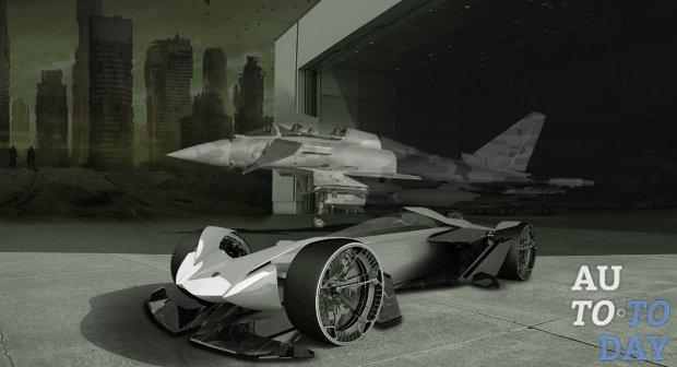 Дэвид Пелличчиари изобразил гоночный Lamborghini Raton нового поколения