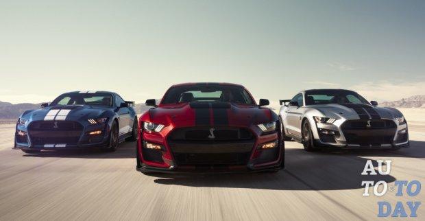 Новый Ford Mustang Shelby GT500 получит ограниченную максимальную скорость