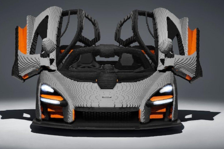 MCLAREN SENNA ОТ LEGO ( 467 800 ДЕТАЛЕЙ )