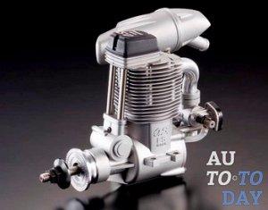 Одноцилиндровый четырехтактный двигатель
