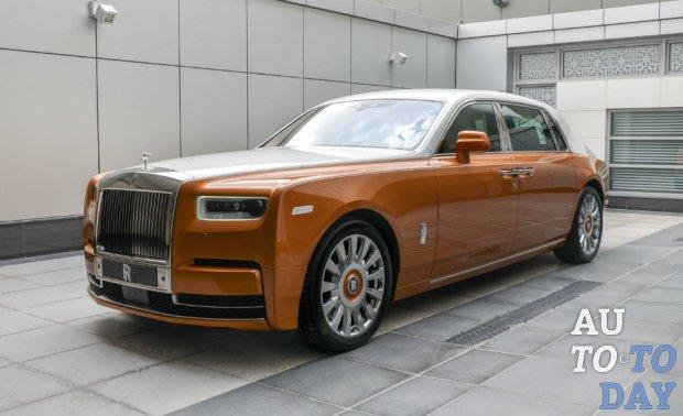 Rolls-Royce Phantom EWB предлагает еще лучшую конфиденциальность