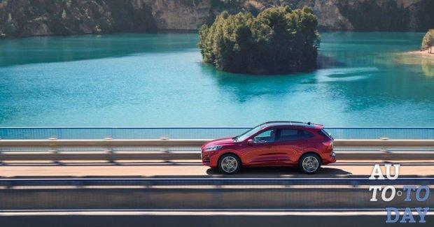 Ford представил новый электрифицированный SUV Kuga