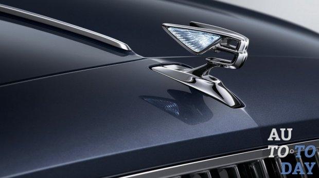 Bentley выпускает первое изображение и видео нового седана Flying Spur