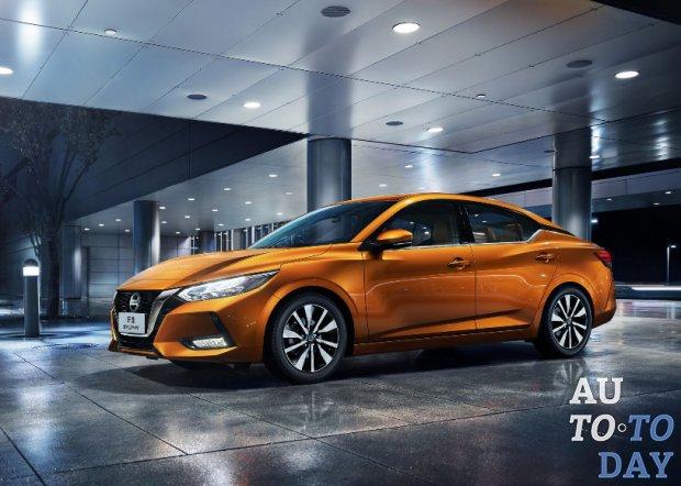 Совершенно новый седан Nissan Sylphy показан в Шанхае