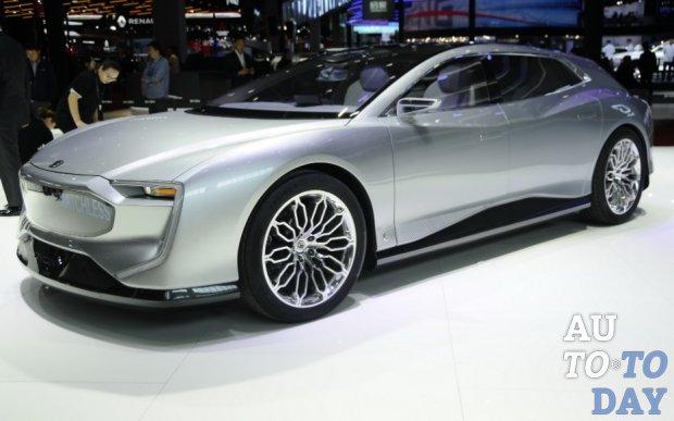 Автосалон в Шанхае: Gyon привез электромобиль Matchless Concept