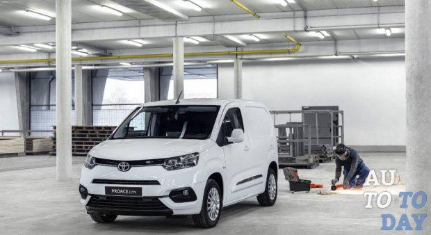 Toyota представила фургон Proace City на базе платформы PSA