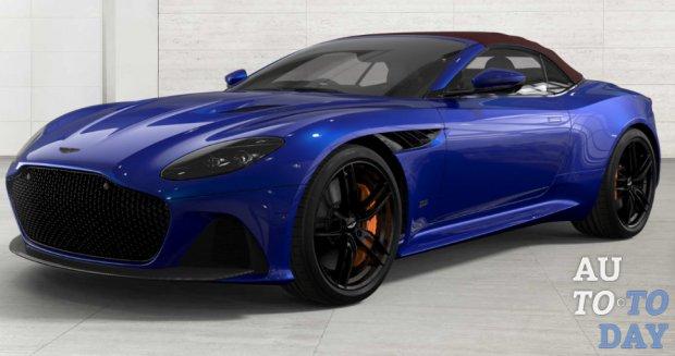 Aston Martin позволяет собрать идеальный DBS Superleggera Volante онлайн