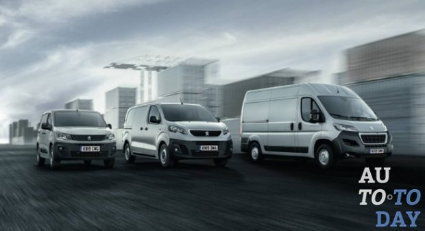 PSA анонсирует электрические фургоны Peugeot Boxer и Citroën Jumper