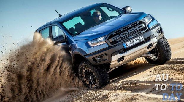 Ford прибывает в Европу с новым пикапом Ranger Raptor
