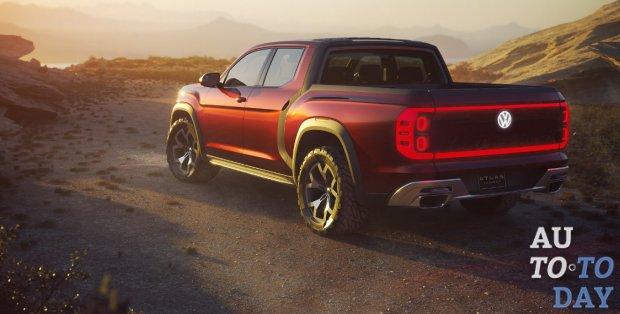 Volkswagen намеревается представить три новых пикапа в ближайшие годы