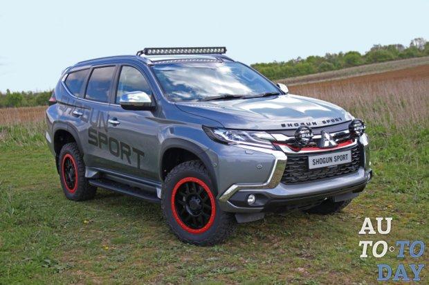 Концепт-кар Mitsubishi Shogun Sport SVP на базе Pajero Sport готов к покорению дорог