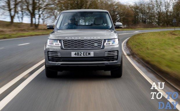 Range Rover получил усовершенствованную систему мягкого гибрида