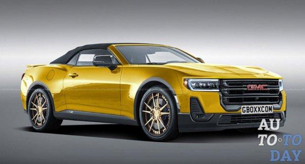 Chevrolet Camaro объединили с автомобилями GMC