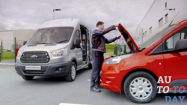 Ford запускает специальный сервис Ford Mobile Service для путешествий