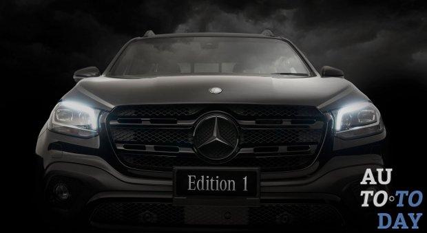 Mercedes-Benz официально раскрыл специальный пикап Edition 1
