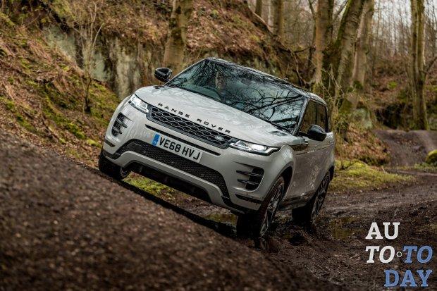 Range Rover Evoque второго поколения не получит электрическую версию