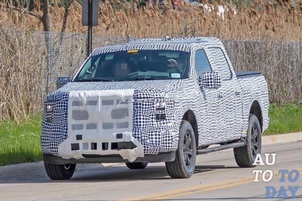 Ford F-150 следующего поколения замечен на тестах