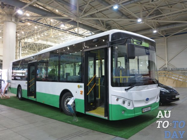Электробусы Skywell скоро будут собирать в Украине