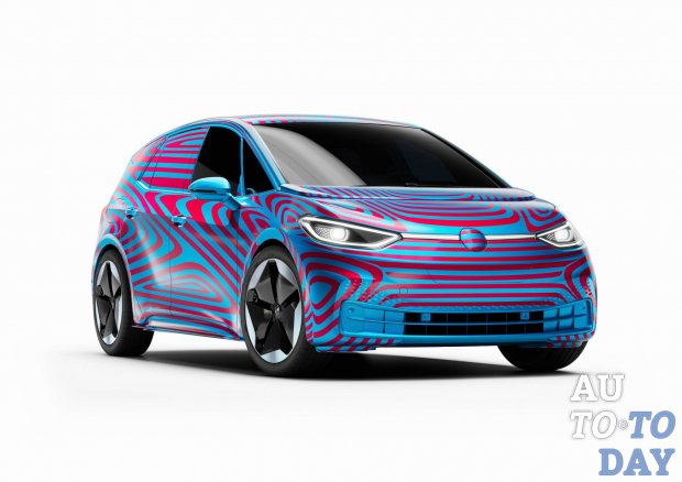 Volkswagen получил свыше 20 тысяч предварительных заказов на хэтчбек ID.3