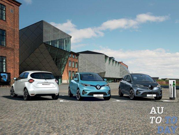 Renault Zoe сможет проезжать до 400 километров