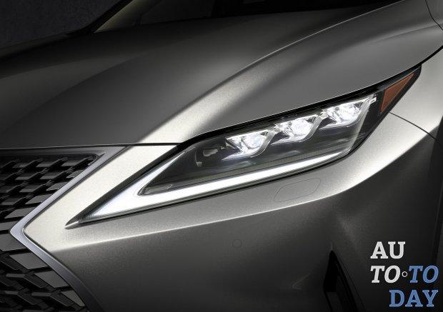 Lexus RX получает инновационные светодиодные фары