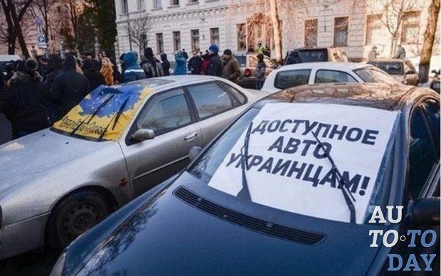 Вопрос с авто на еврономерах будут снова решать после парламентских выборов