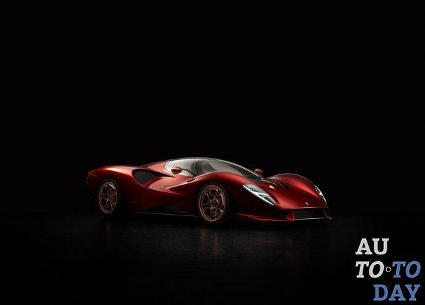De Tomaso возвращается с великолепным суперкаром P72