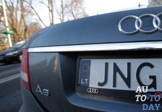 Введение штрафов за нерастаможенные авто на еврономерах могут снова отсрочить