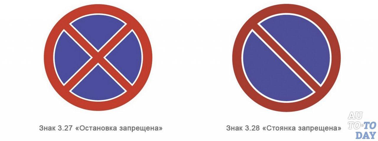 Пдд 2019 знак остановка и стоянка запрещена