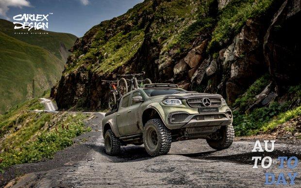 Mercedes-Benz напоминает о настроенном X-Class для бездорожья