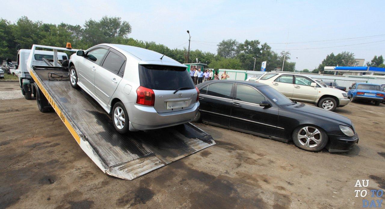 Угон автомобиля после покупки
