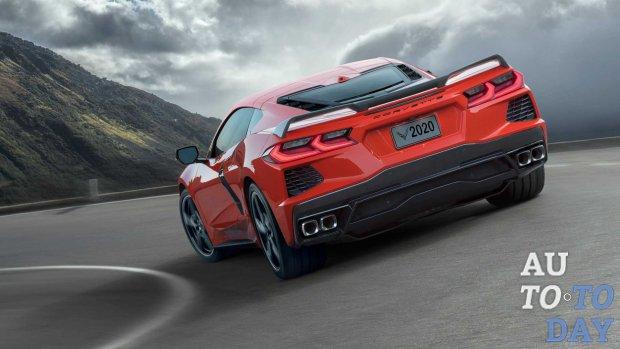 Новый Chevrolet Corvette прибудет с разделенным задним стеклом