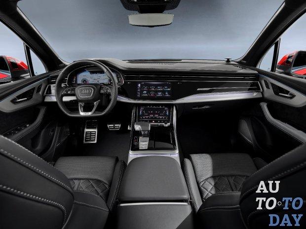 Audi уверенно демонстрирует обновлённый Q7