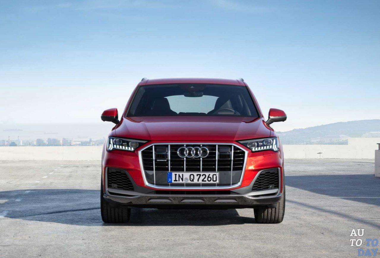 Audi уверенно демонстрирует обновленный Q7