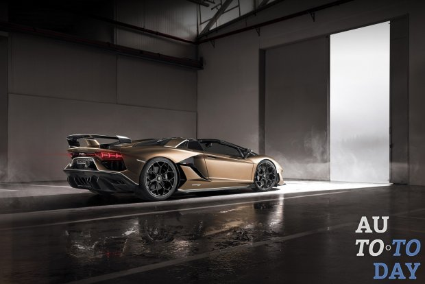 Lamborghini Aventador SVJ 63 Edition прибудет на Pebble Beach
