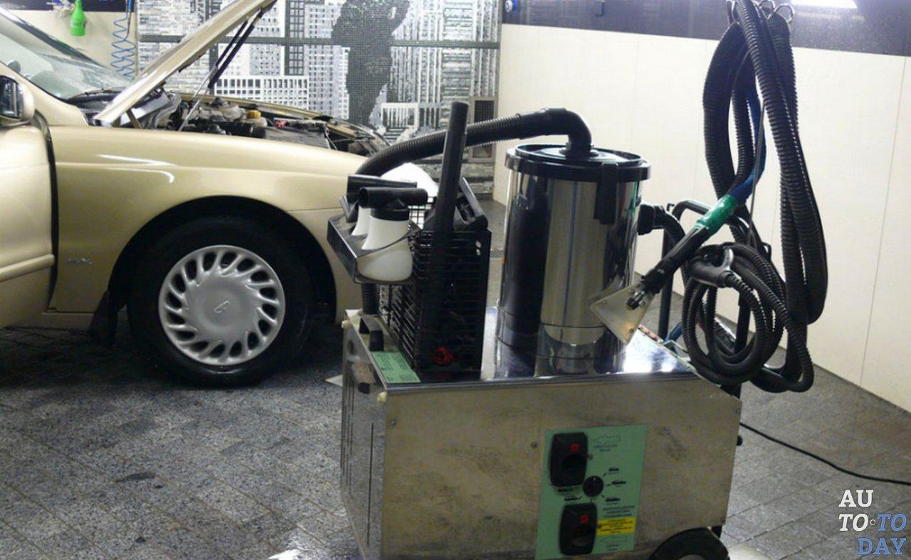 Парогенератор для химчистки авто
