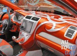 Тюнинг салона авто