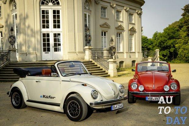 Volkswagen создаёт классический Beetle с нулевым уровнем
