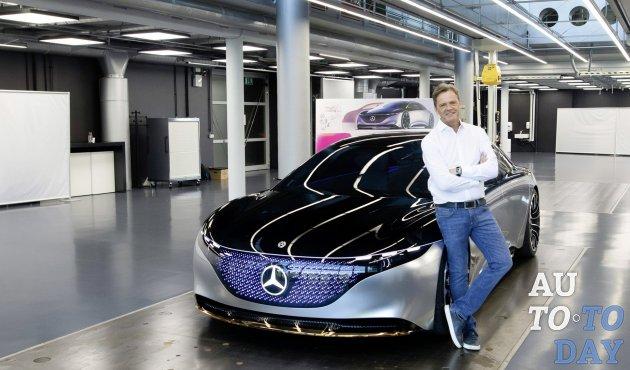 Франкфуртский автосалон-2019: Mercedes-Benz EQS готовится конкурировать с продуктами Tesla