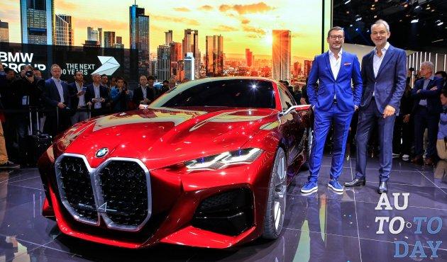 Франкфуртский автосалон-2019: BMW Concept 4 предвидит дизайн будущих продуктов