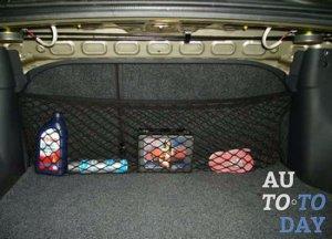 Сетка в багажник машины