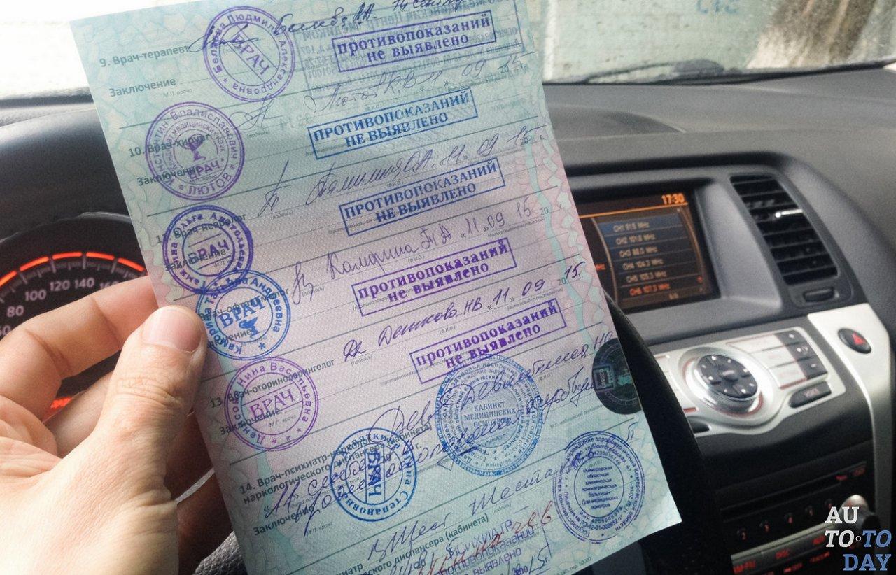 Где получить мед справку для водительского удостоверения в ясенево