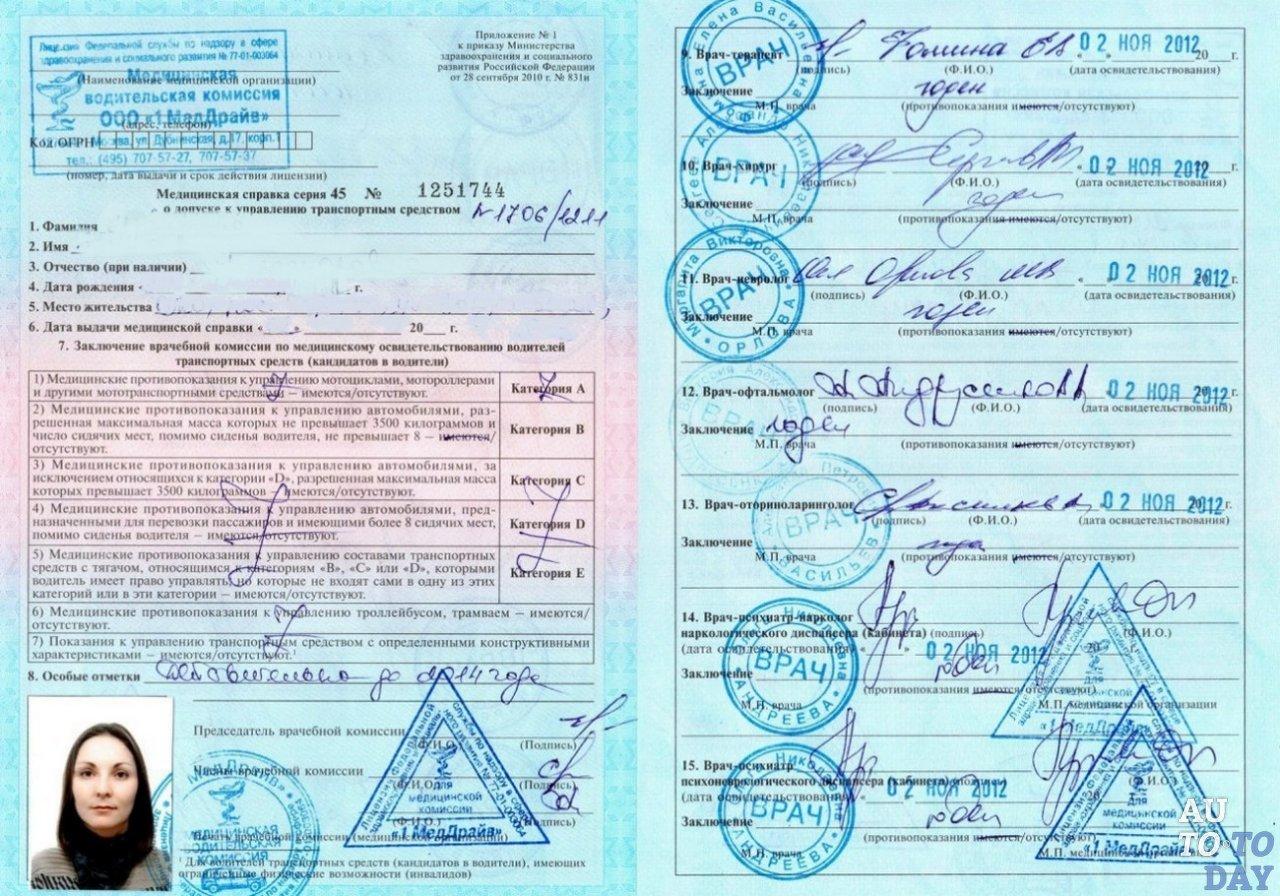 Ахроматопсия и водительские права