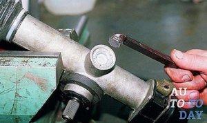 Регулировка рулевой рейки
