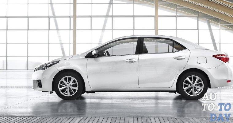 Специальные условия кредитования Toyota Corolla