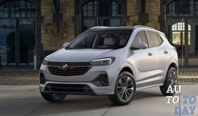 Автосалон в Лос-Анджелесе: Buick Encore GX публично дебютировал