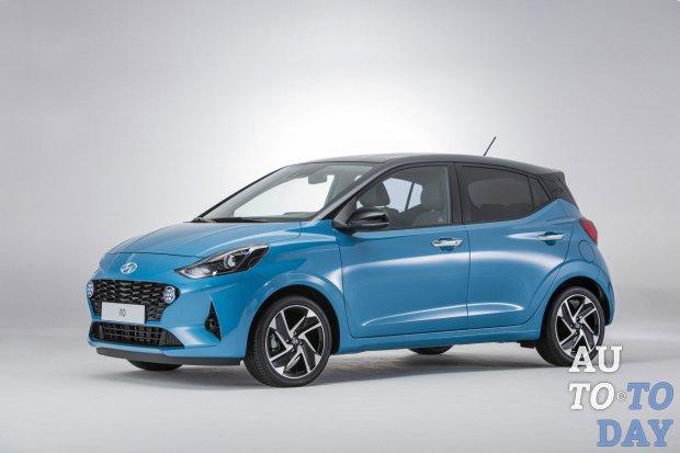 Hyundai i10 2020 года оценён дороже Ford Ka+ и VW Up!