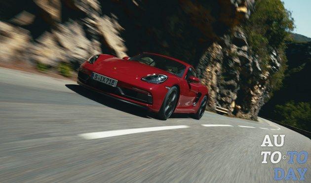 Porsche представляет версии 718 GTS 4.0: новый двигатель, новые возможности